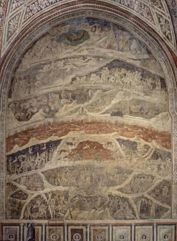 Opera Santa Maria Novella –Cappella-Strozzi-Nardo-di-Cione-Inferno-Insieme