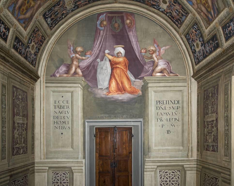 Opera Santa Maria Novella – Cappella-del-Papa-Pontormo-La-Veronica