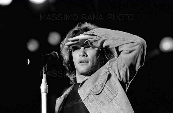 Massimo Rana FrontStage Ritratti dal palco BON JOVI